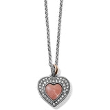 Brighton Neptune's Rings Opal Heart Reversible Necklace