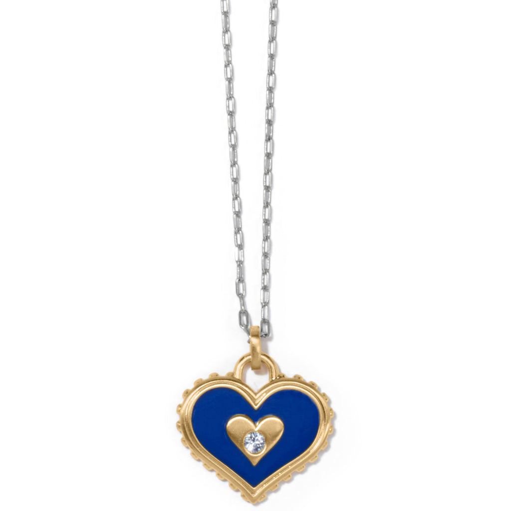 Brighton Simply Charming Giving Heart Necklace