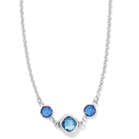 Brighton Elora Gems Sky  Short Necklace