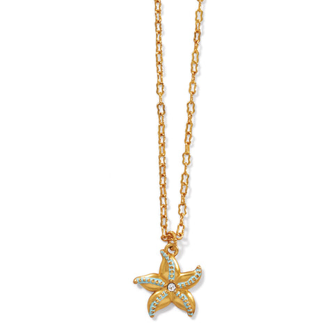 Brighton Paradise Cove Petite Starfish Necklace