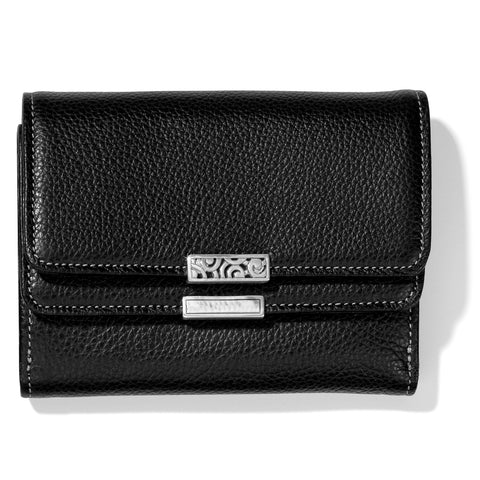 Brighton Barbados Double Flap Medium Wallet