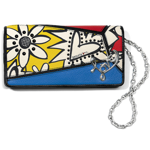 Brighton Crazy Love Bright Rockmore Wallet