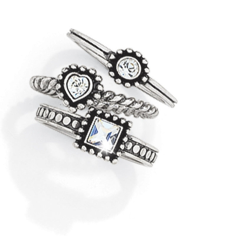 Brighton Twinkle Trio Rings - ShopBody.com