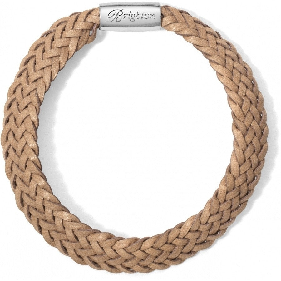 Brighton Woodstock Braided Leather Bracelet - ShopBody.com - 1
