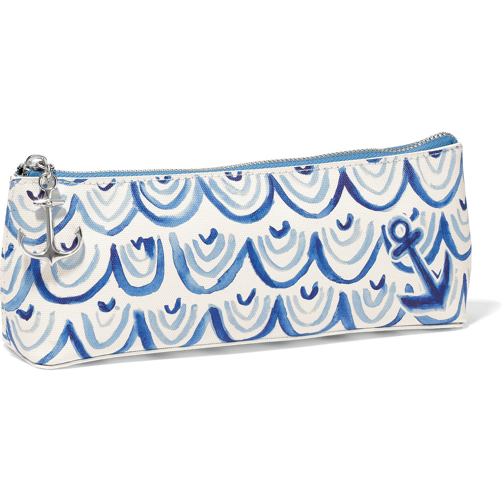 Brighton Blue Water Small Cosmetic Pouch