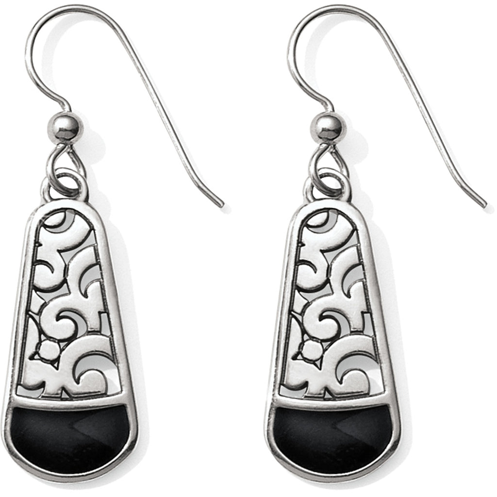 Brighton Catania French Wire Earrings - Black