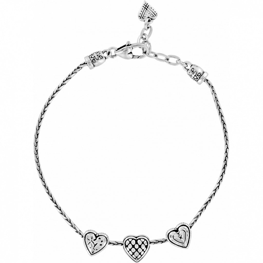 Brighton Enchanted Hearts Anklet