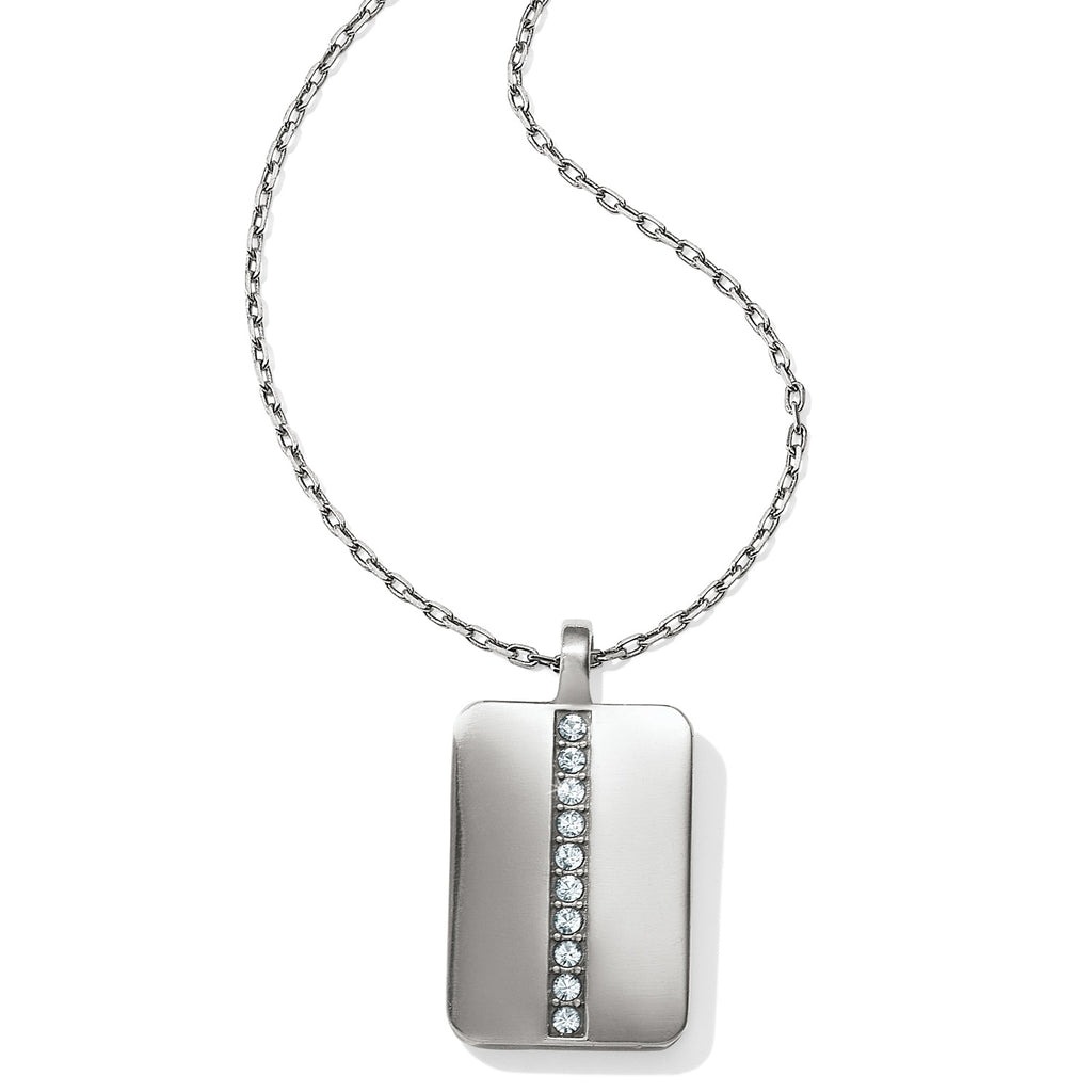 Brighton Contempo Ice Reversible Tile Necklace