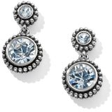 Brighton Twinkle Duo Post Drop Earrings