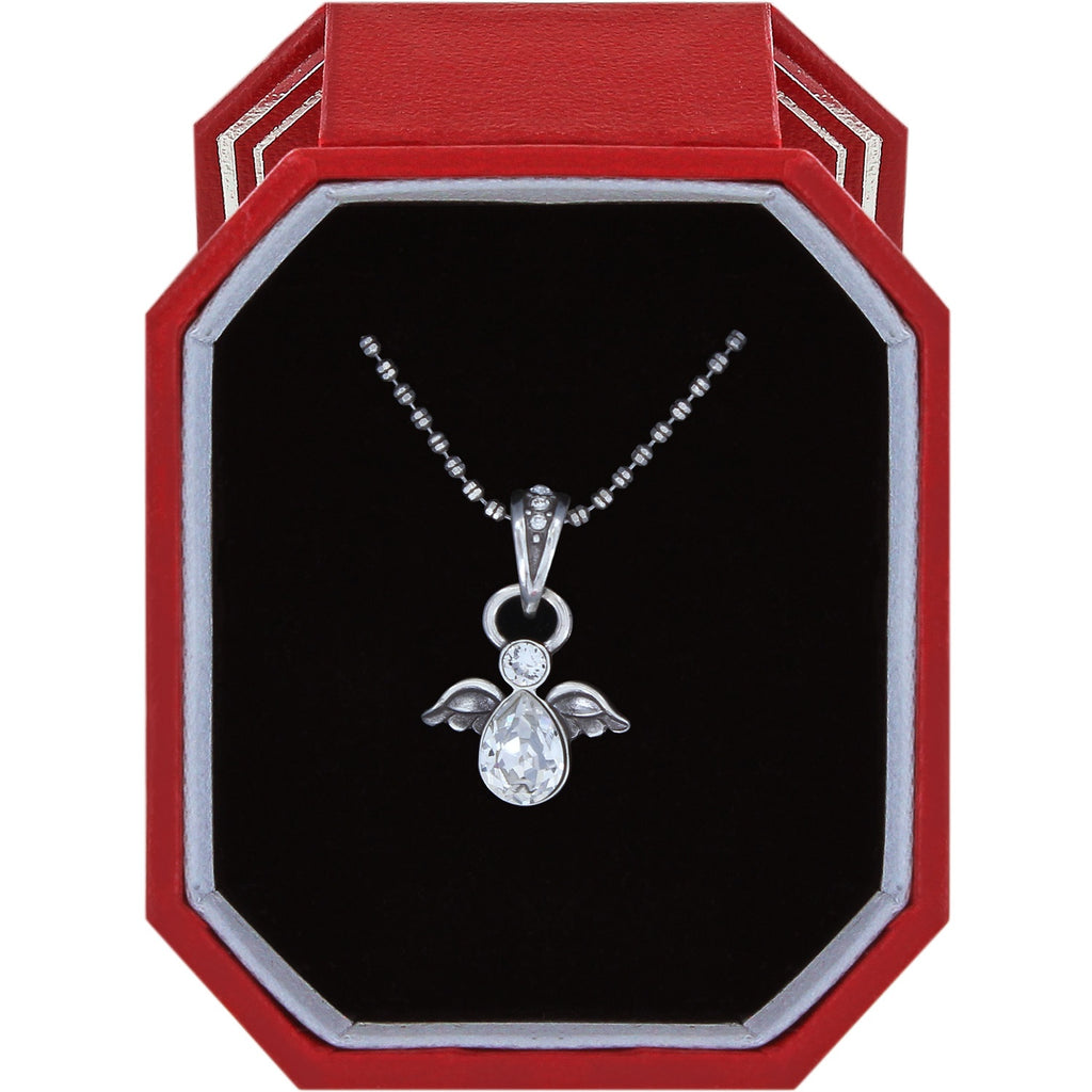 Brighton Heavenly Angel Necklace Gift Box
