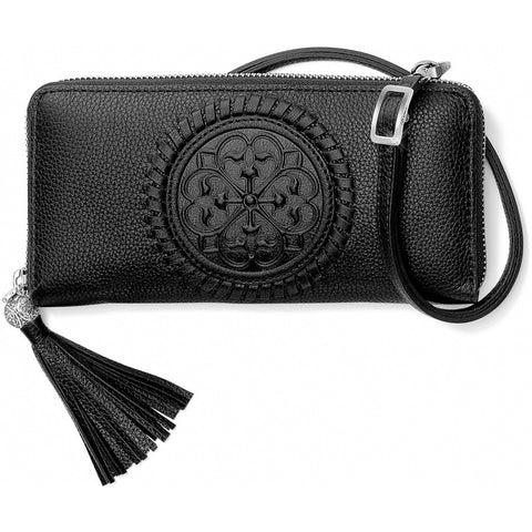 Brighton Ferrara Large Zip Around Wallet