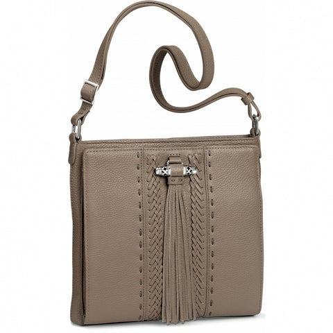 Brighton Amaya Tassel Cross Body Organizer Bag