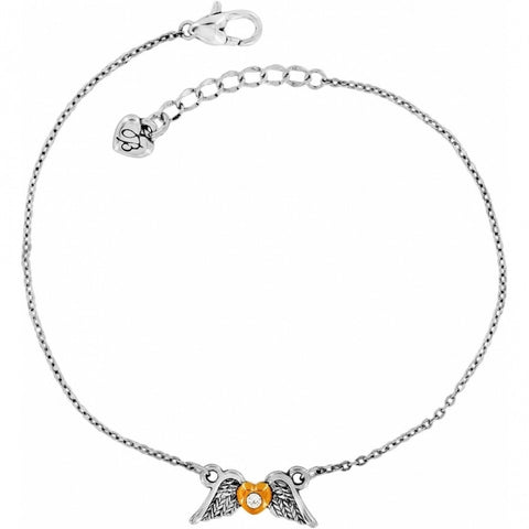 Brighton Angel Heart Anklet
