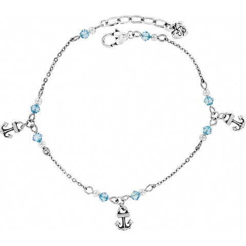 Brighton Bahama Blues Anklet