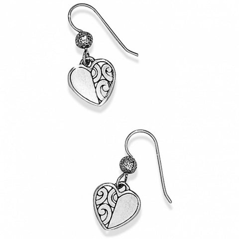 Brighton Barbados Heart French Wire Earrings