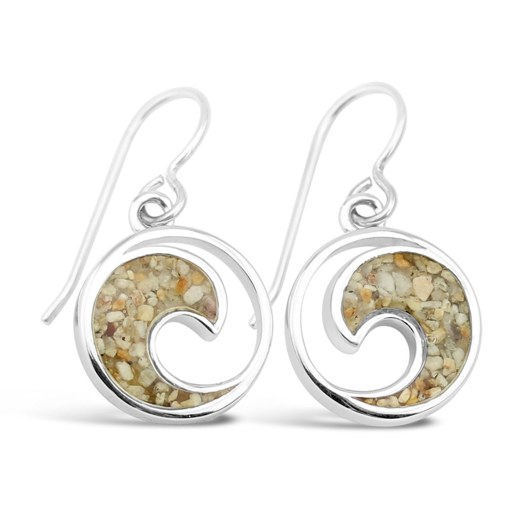 Dune Jewelry Wave Earrings