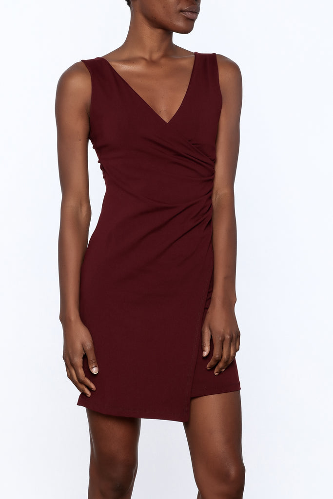 Susana Monaco Idina V-Neck Dress