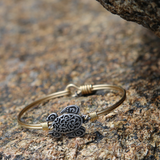Luca + Danni Sea Turtle Bangle Bracelet