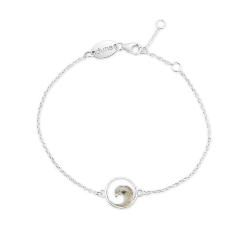 Dune Jewelry Delicate Dune Wave Anklet
