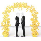 Lovepop Wedding Day Grooms 3D Card