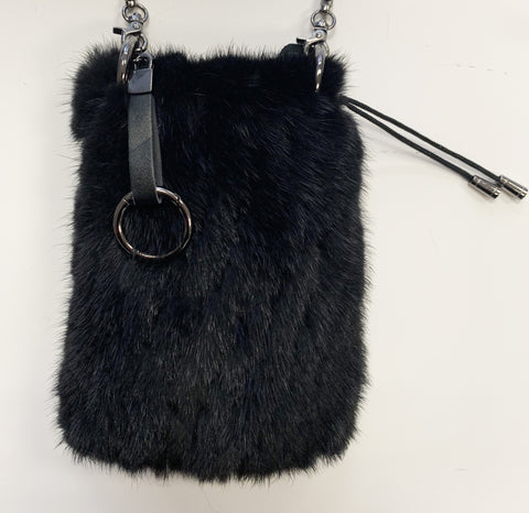 Linda Richards Mink Mobile Bag