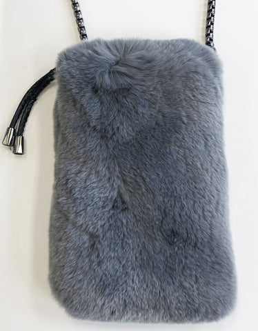 Linda Richards Rabbit Fur Bag
