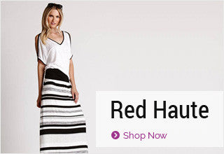 Red Haute Designer Clothing
