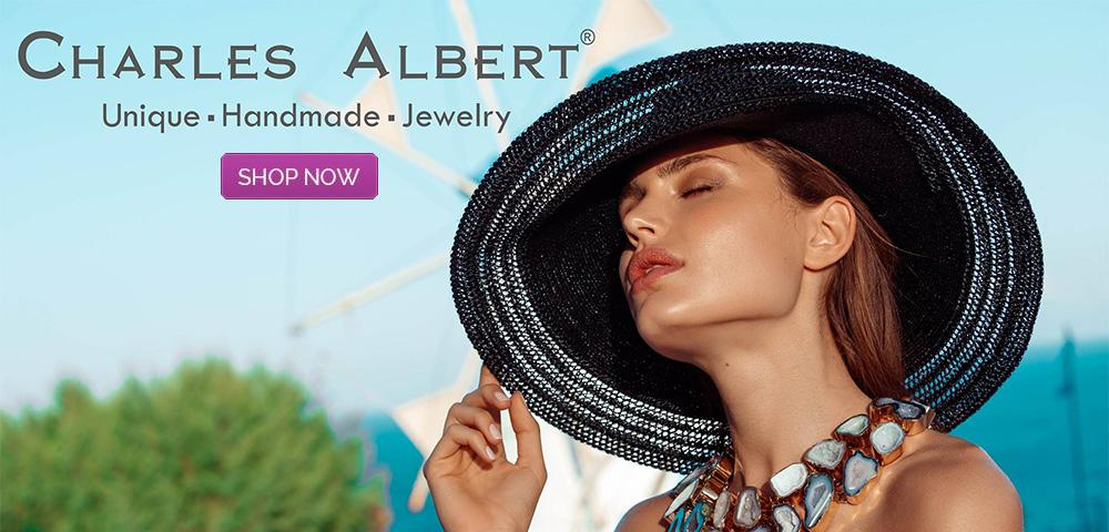 Charles Albert Designer Sterling Silver and Alchemia Gold Jewelry