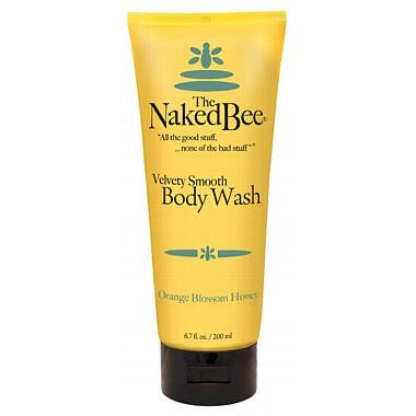 Naked Bee Orange Blossom Honey Body Wash - 6.7 oz. tube