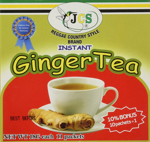 1 X JCS Instant Ginger Tea - Product of Thailand