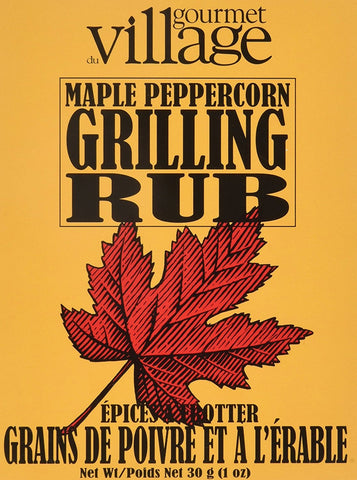 Gourmet Village Maple Peppercorn Rub