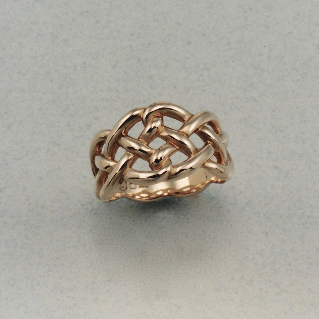 Durrow Knot Ring Ostling Jewelry Design