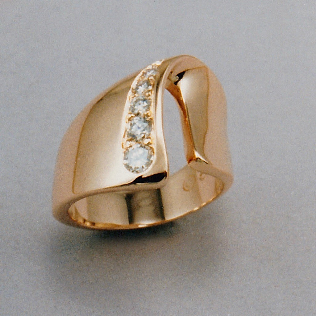 Fold Ring #2,Custom,custom jewelry designer,custom jewelry design, Handmade jewelry, handcrafted, fine jewelry designs, designer goldsmiths, unique jewelry designs, northwest jewelry, northwest jewelry designers, pacific northwest jewelry,