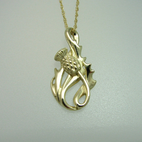 The Flower of Scotland Thistle Pendant
