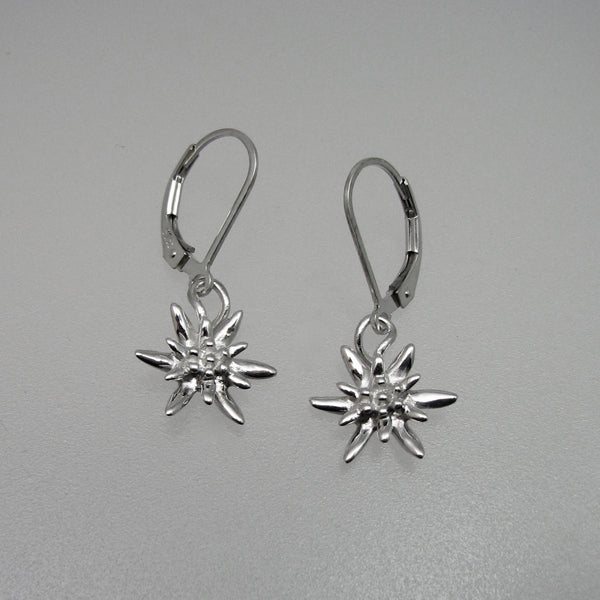 Edelweiss Earrings Small w/Leverbacks