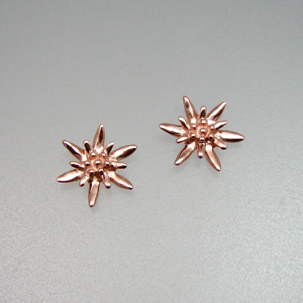 Edelweiss Earrings Small with Posts