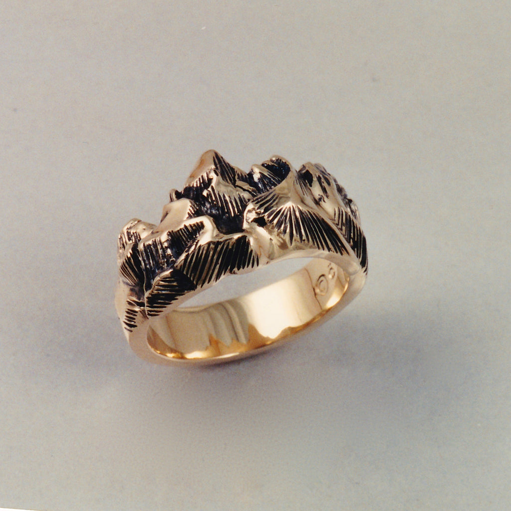 Grand Teton Ring, Mountain Jewelry, Cascade Jewelry, Cascade Range Jewelry, Mountain Theme Jewelry, Leavenworth Mountain Jewelry, Mountain Rings, Mountain Pendants,
