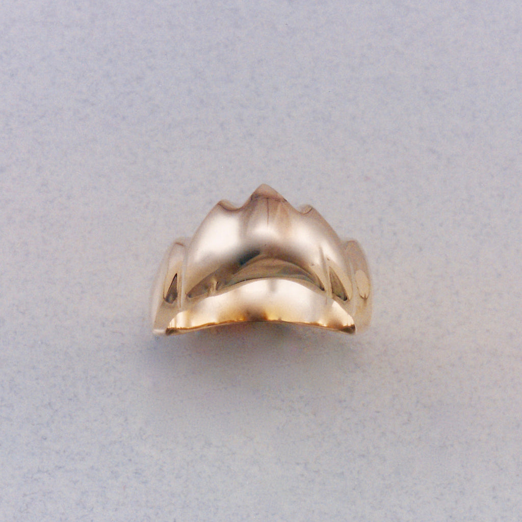 Soft Mountain Ring, Mountain Jewelry, Cascade Jewelry, Cascade Range Jewelry, Mountain Theme Jewelry, Leavenworth Mountain Jewelry, Mountain Rings, Mountain Pendants,