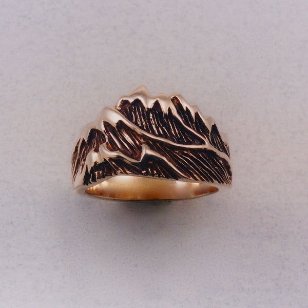 Cascade Mountain Ring, Mountain Jewelry, Cascade Jewelry, Cascade Range Jewelry, Mountain Theme Jewelry, Leavenworth Mountain Jewelry, Mountain Rings, Mountain Pendants,