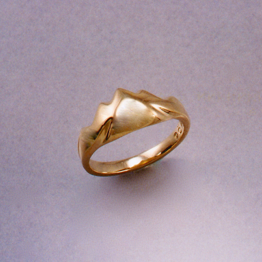 Light Soft Mountain Ring