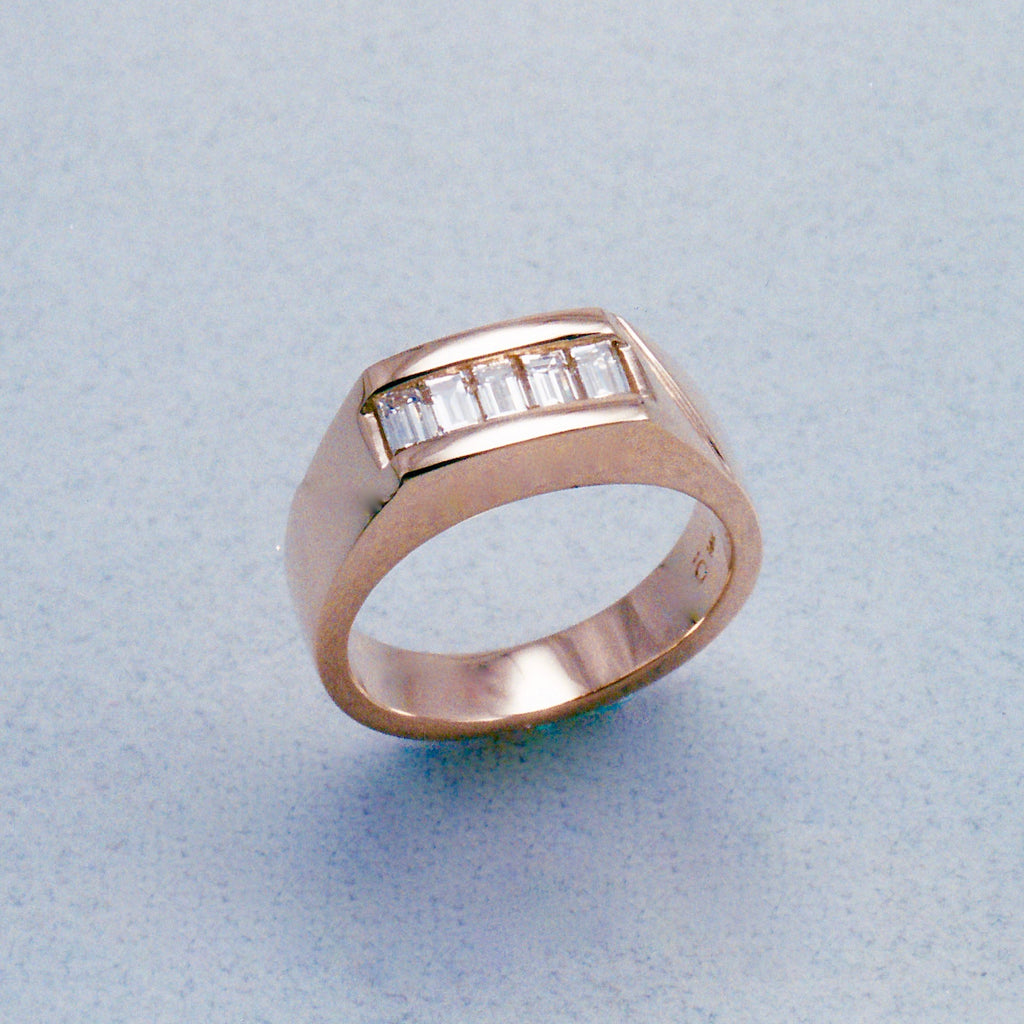 Custom Design Gents' Ring