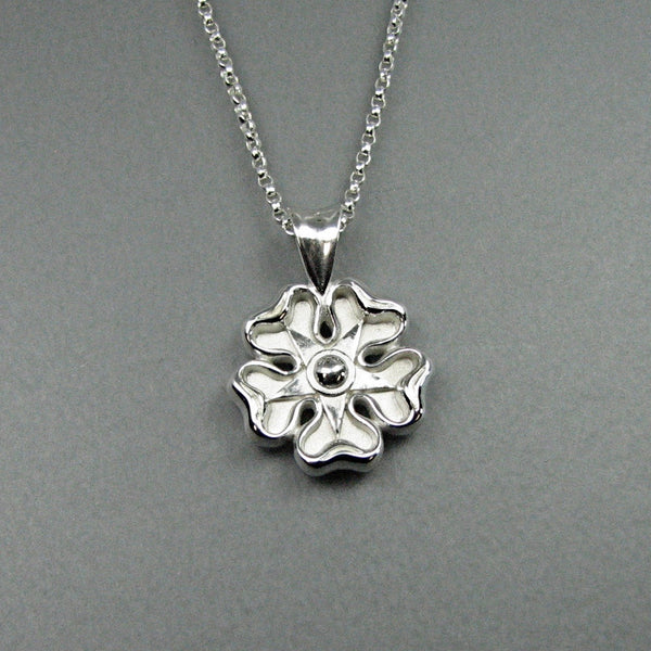 Jacobite Rose 214 Stling Jewelry Design