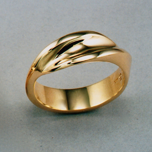 Waves Gents' Ring,Custom,custom jewelry designer,custom jewelry design, Handmade jewelry, handcrafted, fine jewelry designs, designer goldsmiths, unique jewelry designs, northwest jewelry, northwest jewelry designers, pacific northwest jewelry,