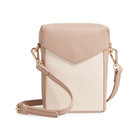 Tabitha Crossbody - Bone/Taupe - Jules Kae Handbags and Accessories
