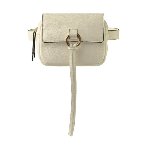 Audrey Belt Bag - Cream - Jules Kae Handbags and Accessories