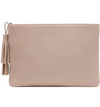 Jen Pouch - Dusty Nude - Jules Kae Handbags and Accessories