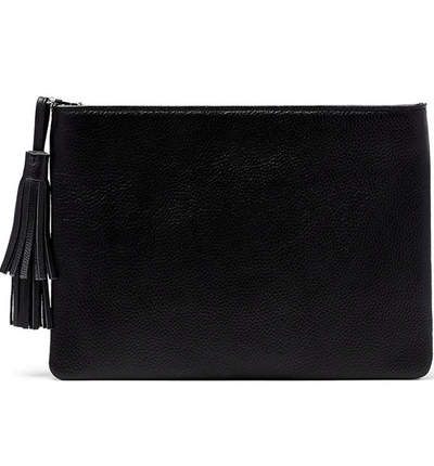 Jen Pouch - Black - Jules Kae Handbags and Accessories