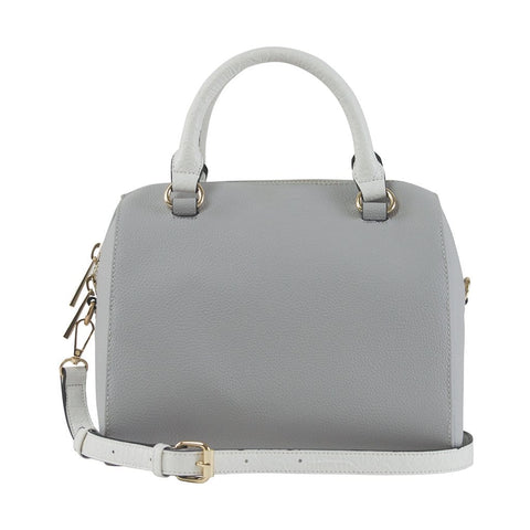 Juliette Medium Duffle Bag - Space Grey/White Snake - Jules Kae Handbags and Accessories