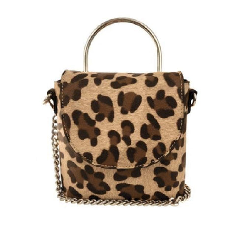 Cynthia Crossbody - Leopard - Jules Kae Handbags and Accessories