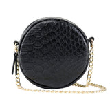 Lily Mini Crossbody - Black Snake - Jules Kae Handbags and Accessories
